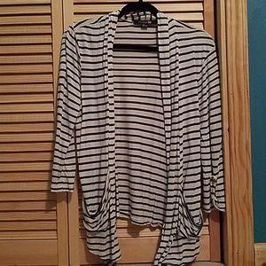Forever 21 3/4 Sleeve Cardigan Size Large